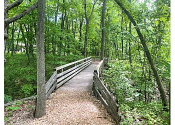 Milwaukee hiking trail Schlitz Audubon Nature Center