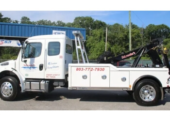 Columbia towing company Schroeder's Towing