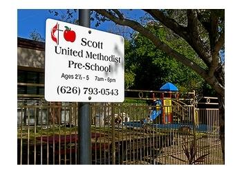 Pasadena preschool Scott United Methodist Church Preschool