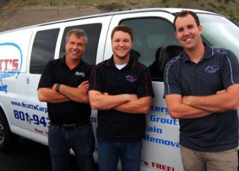 Salt Lake City carpet cleaner Scott's Carpet & Upholstery Cleaning