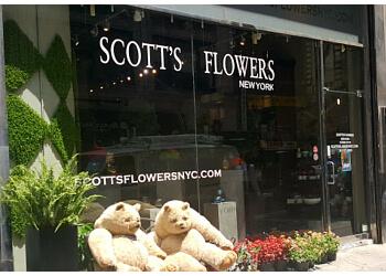 New York florist Scotts Flowers NYC