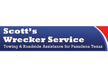 Pasadena towing company Scotts Wrecker Services