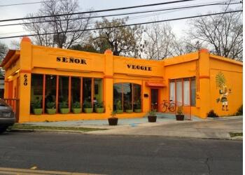 San Antonio vegetarian restaurant Senor Veggie