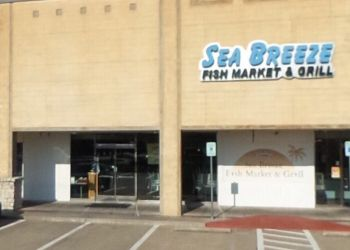 Plano seafood restaurant Sea Breeze Fish Market & Grill