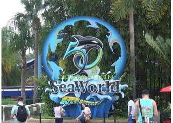 Orlando amusement park SeaWorld