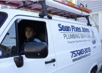 Virginia Beach plumber Sean Fixes Johns Plumbing Services