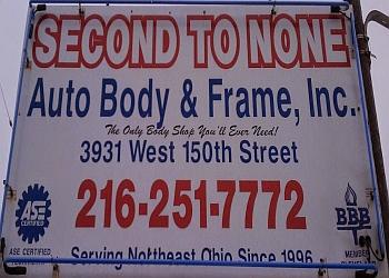 Cleveland auto body shop Second To None Auto Body
