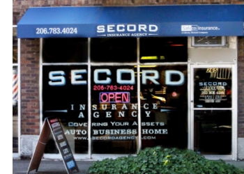 Seattle insurance agent Secord Insurance Agency