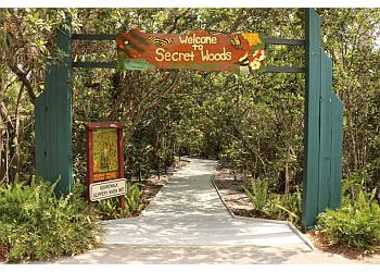 Fort Lauderdale hiking trail Secret Woods Nature Center