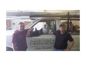 Minneapolis fencing contractor Security Fence & Construction Inc.