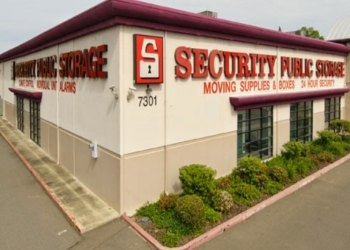Sacramento storage unit Security Public Storage