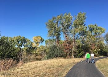 Wichita hiking trail Sedgwick County Park Trail