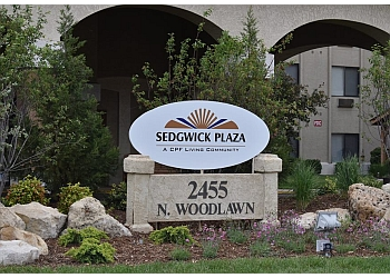 Wichita assisted living facility Sedgwick Plaza