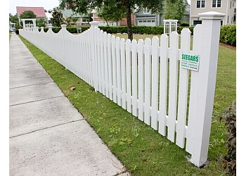 Durham fencing contractor Seegars Fence Company