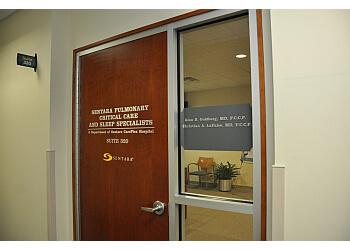 Hampton sleep clinic Sentara Pulmonary, Critical Care & Sleep Specialists