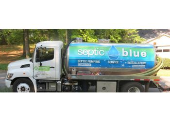 Raleigh septic tank service Septic Blue