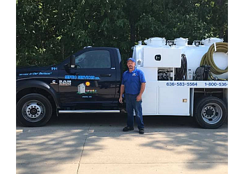 St Louis septic tank service Septic Services, Inc.
