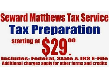 Durham tax service Seward Matthews Tax Service