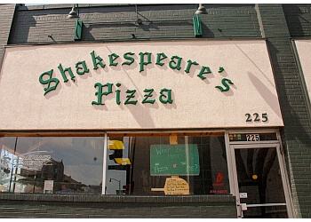 Columbia pizza place Shakespeare's Pizza