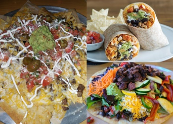 Palmdale mexican restaurant Sharky's Woodfired Mexican Grill