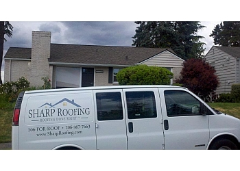 Seattle roofing contractor Sharp Roofing