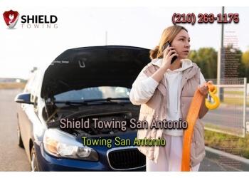 San Antonio towing company Shield Towing San Antonio