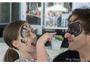 Omaha face painting Shiny Happy Faces