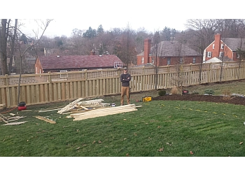 Pittsburgh fencing contractor Shortley Fencing