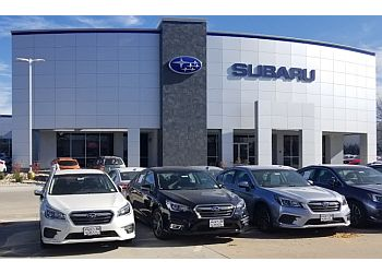 Aurora car dealership Schomp Subaru