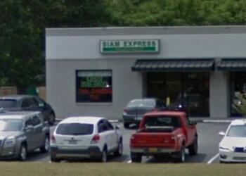Fayetteville thai restaurant Siam Express