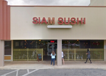 Tallahassee sushi Siam Sushi