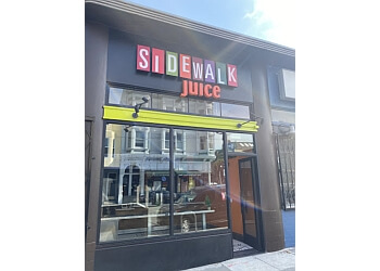 San Francisco juice bar Sidewalk Juice