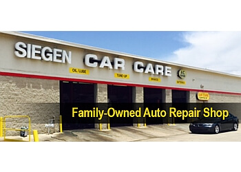 Baton Rouge car repair shop Siegen Car Care