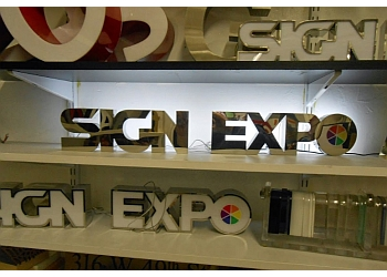 New York sign company Sign Expo