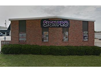 Lincoln sign company Sign Pro