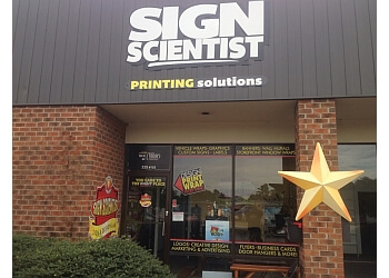 Raleigh sign company Sign Scientist