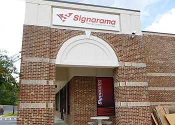 Durham sign company Signarama