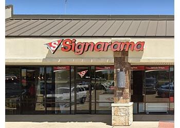 Plano sign company Signarama