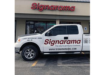 Oklahoma City sign company Signarama Oklahoma City