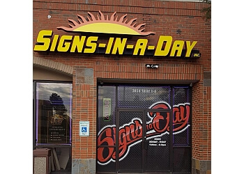 Baton Rouge sign company Signs In-A-Day