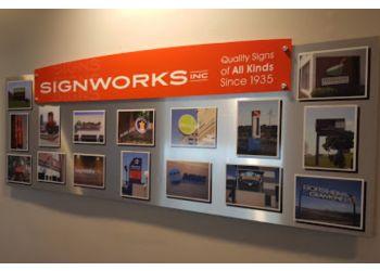 Omaha sign company Signworks Inc.