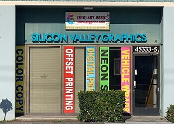 Fremont printing service Silicon Valley Graphics