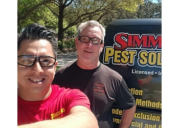 Tampa pest control company Simmons Pest Solutions