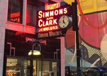 Detroit jewelry Simmons and Clark Jewelers
