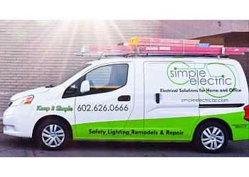 Scottsdale electrician Simple Electric LLC