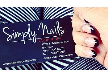 Aurora nail salon Simply Nails Salon & Spa
