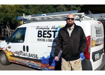 Gilbert hvac service Simply The Best Heating & Cooling