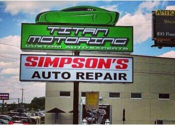 Nashville car repair shop Simpson's Auto Repair