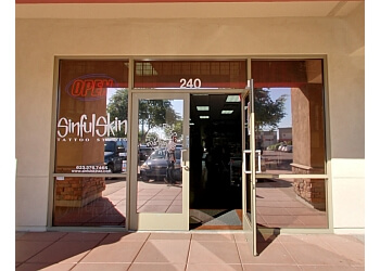 Glendale tattoo shop Sinful Skin Tattoo Studio