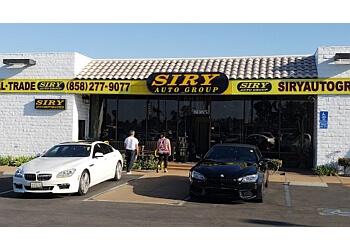San Diego used car dealer Siry Auto Group